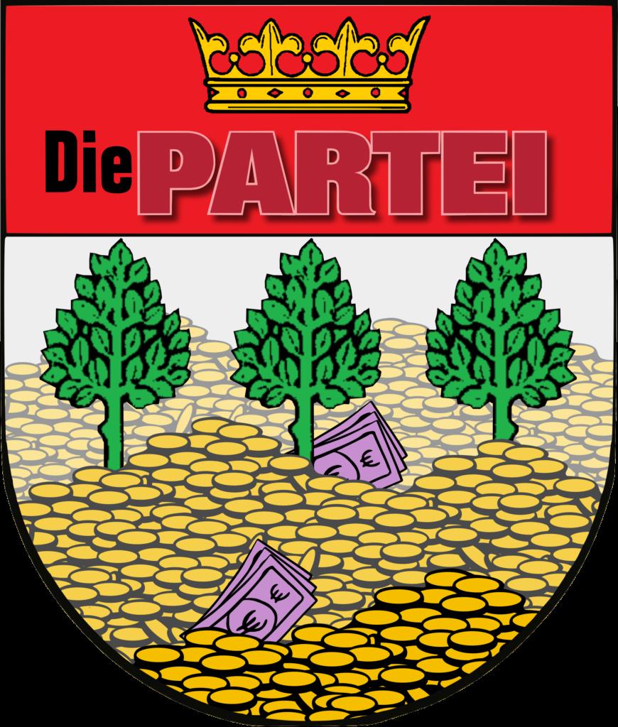 Das Wappen der PARTEI Kronshagen