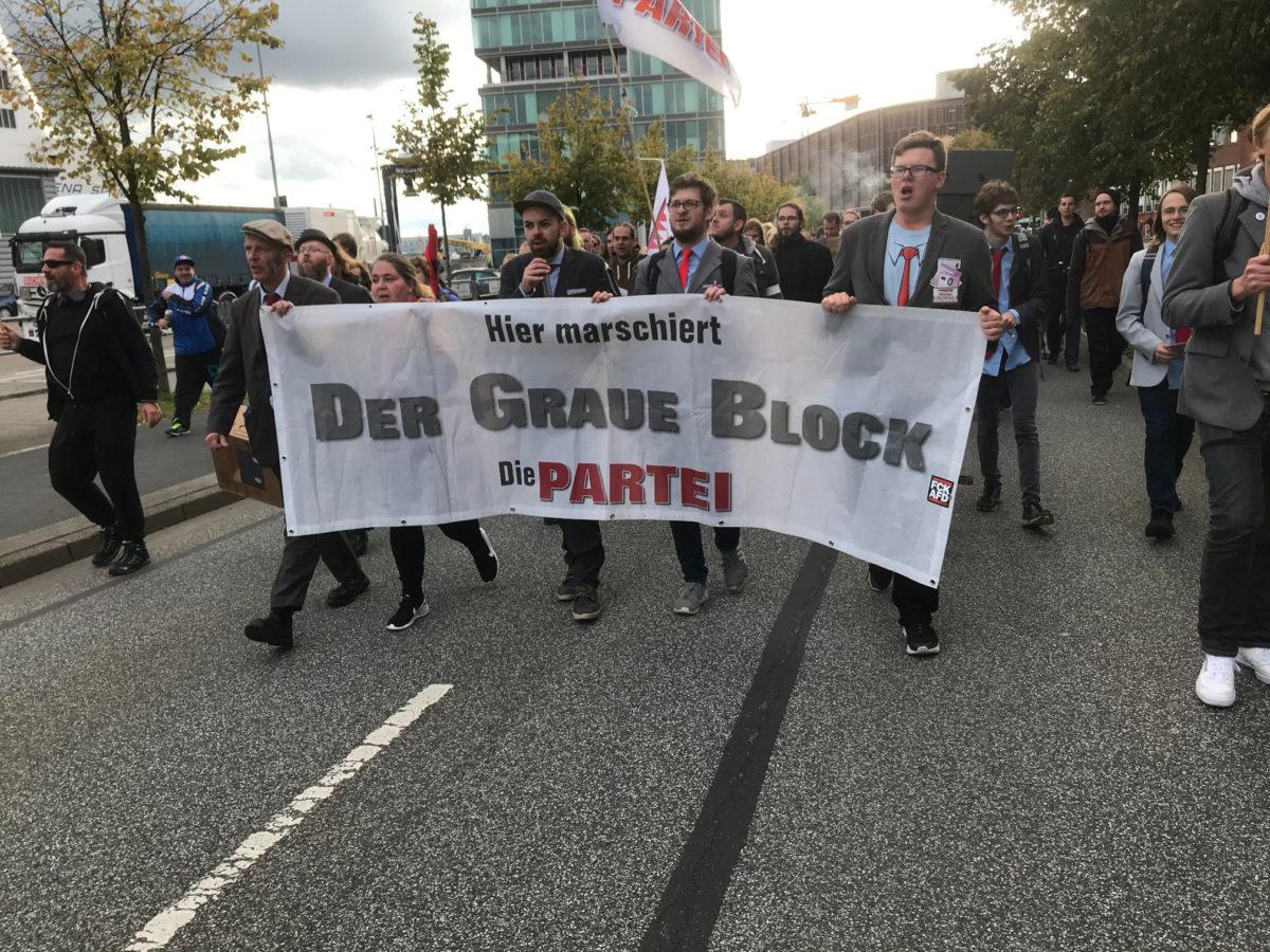 """Tag der Deutschen """"Einheit"""" Demonstranten"""